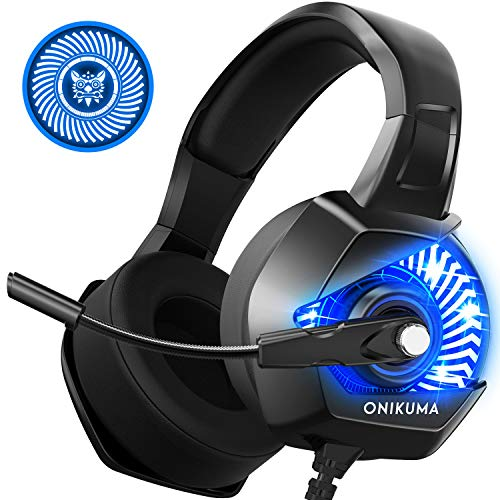 ONIKUMA K6 Gaming Headset Xbox One Headset with 7.1 Surround Sound Stereo,...