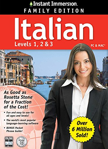 2014 Edition   Instant Immersion Italian Levels 1 2 3