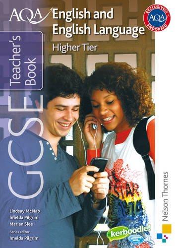 Download AQA GCSE English and English Language Higher Tier Teacher's Book pdf epub