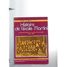 Histoire de l'ecole martini l'enseignement a la seyne sur mer 1789-1980