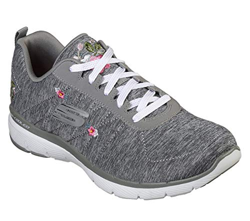 3.0 in Blossom Womens Sneakers Gray 8.5 ()