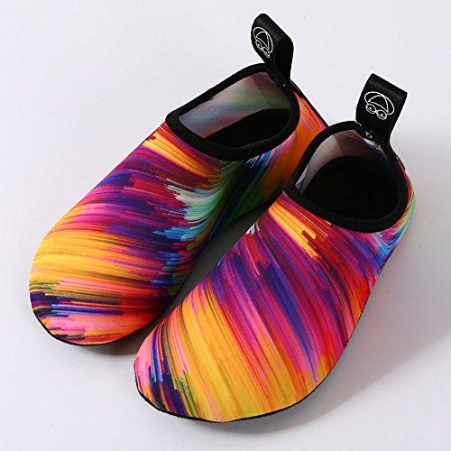 Equick Women Waterschoenen Sneldrogende Adempauze Sporthuidschoenen Blootsvoets Antislip Multifunctionele Sokken Yoga-oefening 1oranje