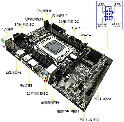 ACHICOO X79S PC Motherboard L//GA 2011 DDR3 M-ATX Motherboard
