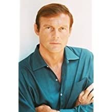 ADAM WEST RARE 1960S POSE IN BLUE SHIRT ARMS CROSSED 11x17 Mini POSTER