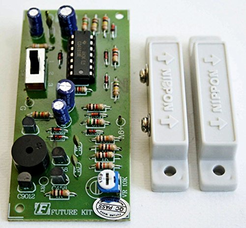 Magnetic Switch Burglar Alarm With Sensor Assembled Electronic Circuit Board : FA506