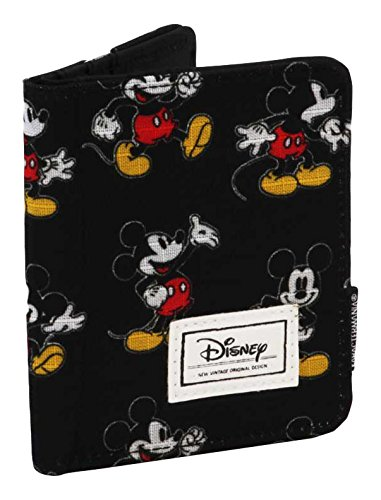 Karactermania Disney Classic Mickey Moving Monederos, 11 cm, Negro