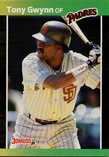 - Baseball MLB 1989 Donruss #128 Tony Gwynn Padres