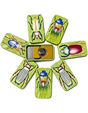 ArtCreativity Bug Clickers for Kids, Set of 12, Fun Assorted Cricket Noise Makers for Children with Colorful Insect Decorations, Unique Birthday Party Favors, Goodie Bag Fillers for Boys and Girls