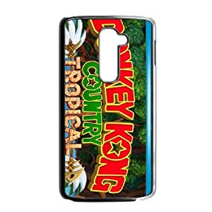 LG G2 Cell Phone Case Black_Donkey Kong Country Tropical Freeze_004 Fzuat