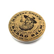 Honest Amish Beard Balm  Leave-in Conditioner - All Natural -Vegan Friendly Organic Oils and Butters - New Large 4 Oz Twist Tin
