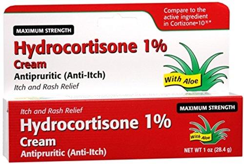 (Taro Hydrocortisone Cream 1% Maximum Strength 1 oz (Pack of 12))