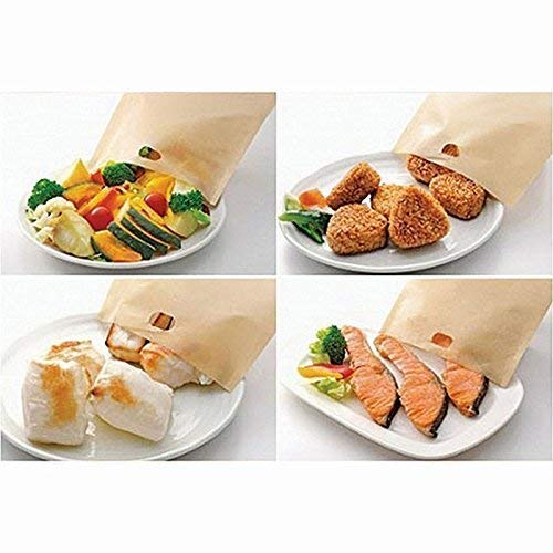 ekSel Non Stick Reusable Toaster Bags, Pack of 3 by ekSel (Image #3)