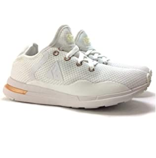 cd70ed8e9bb Le Coq Sportif Women's Courtset W Woven Optical White/Black Trainers ...