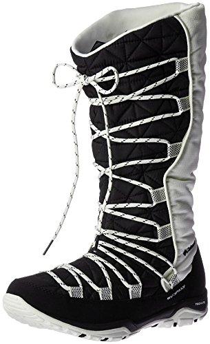 Columbia Loveland Omni-Heat, Botas de Nieve para Mujer Negro (Black, Sea Salt 010Black, Sea Salt 010)