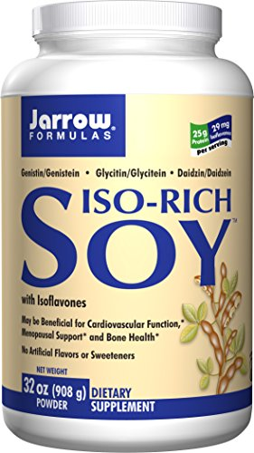 Jarrow Formulas Iso-Rich Soy, Menopausal Support and Bone Health, 32 Oz