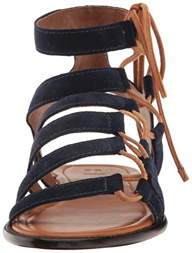Frye Blair Side Ghillie Leader Gladiator Sandal Navy