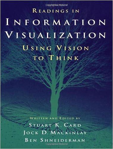 Readings In Information Visualization Using Vision To Think Interactive Technologies Card Stuart K Mackinlay Jock Shneiderman Ph D Suny At Stony Brook Ben 9781558605336 Amazon Com Books