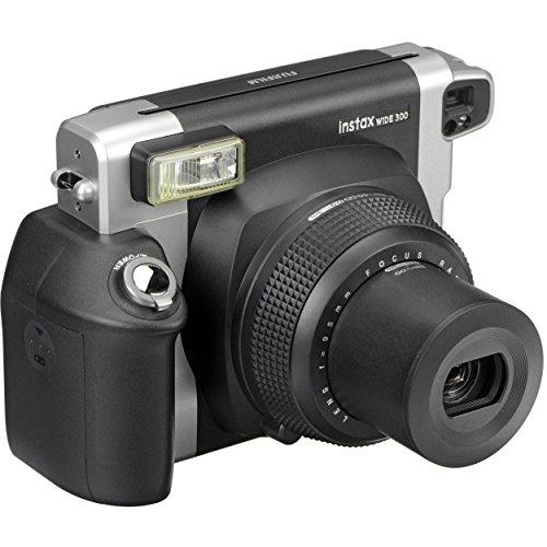 Fujifilm Instax Wide 300 Instant Film Camera- Black (Certified Refurbished)