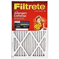 Filtrete Reduction Filter Electrostatic, Micro Allergen 16  X 20  X 1  Pleated 1000 Mpr 2/Pack