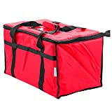 : Insulated Food Delivery Bag Pan Carrier (Red)
