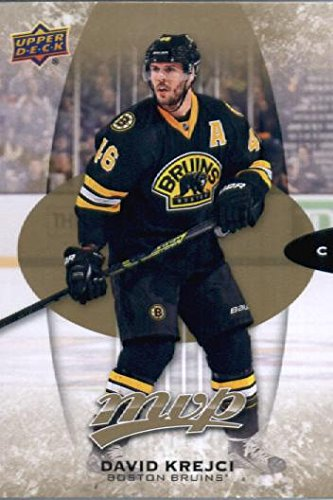 2016 Upper Deck MVP #59 David Krejci Boston Bruins Hockey Card Bruins Hockey Card