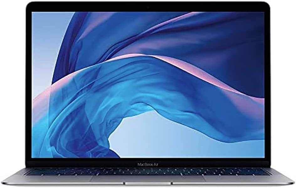 Apple 2018 13.3in MacBook Air, Mac OS, Intel Core i5, 1.6 GHz, Intel UHD Graphics 617, 256 GB, Space Gray (Renewed)