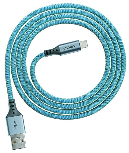 Ventev chargesync Alloy Cable, Apple Lightning, 4ft