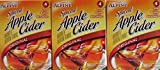 Alpine Spiced Apple Cider Original Instant Drink Mix with Natural & Artificial Flavors 4 Pouches Per Pack (3 Pack)
