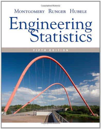 Engineering Statistics