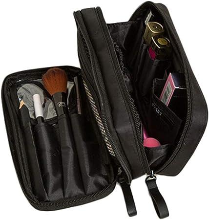 Estuche cosmético Bolso cosmético portátil, Bolso cosmético profesional Bolso cosmético de viajero de doble capa Traveller Cosmetic / Cosmetic Bag Ladies, Bolsa de almacenamiento de viaje / tren. Estu: Amazon.es: Hogar