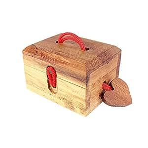 caja m gica de amor caja regalo con cerradura m gica alhajera caja de madera standard. Black Bedroom Furniture Sets. Home Design Ideas