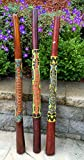 Didgeridoo Hand Painted Teak Wood- Professional Sound, XLARGE SIZE - 52'', JIVE BRAND