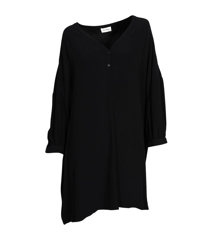 AMERICAN VINTAGE Damen Kleid Holi 141Q aus Viskose schwarz
