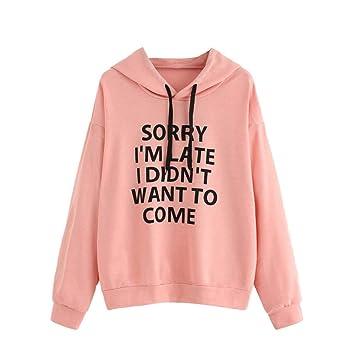 6de6b842c579b Amazon.com : Casual Women Men Hoodies Sweatshirts Womens Hoodie ...