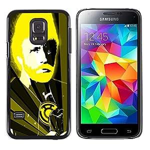 A-type Arte & diseño plástico duro Fundas Cover Cubre Hard Case Cover para Samsung Galaxy S5 Mini (Not S5), SM-G800 (Divertido Chuck N Karate Dios)