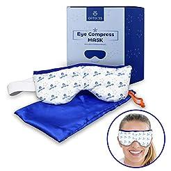 Eye Mask for Dry Eyes, Moist Heat Eye Co...