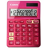 Canon Office Products 9490B018 Canon LS-123K Desktop Basic Calculator, Metallic Pink