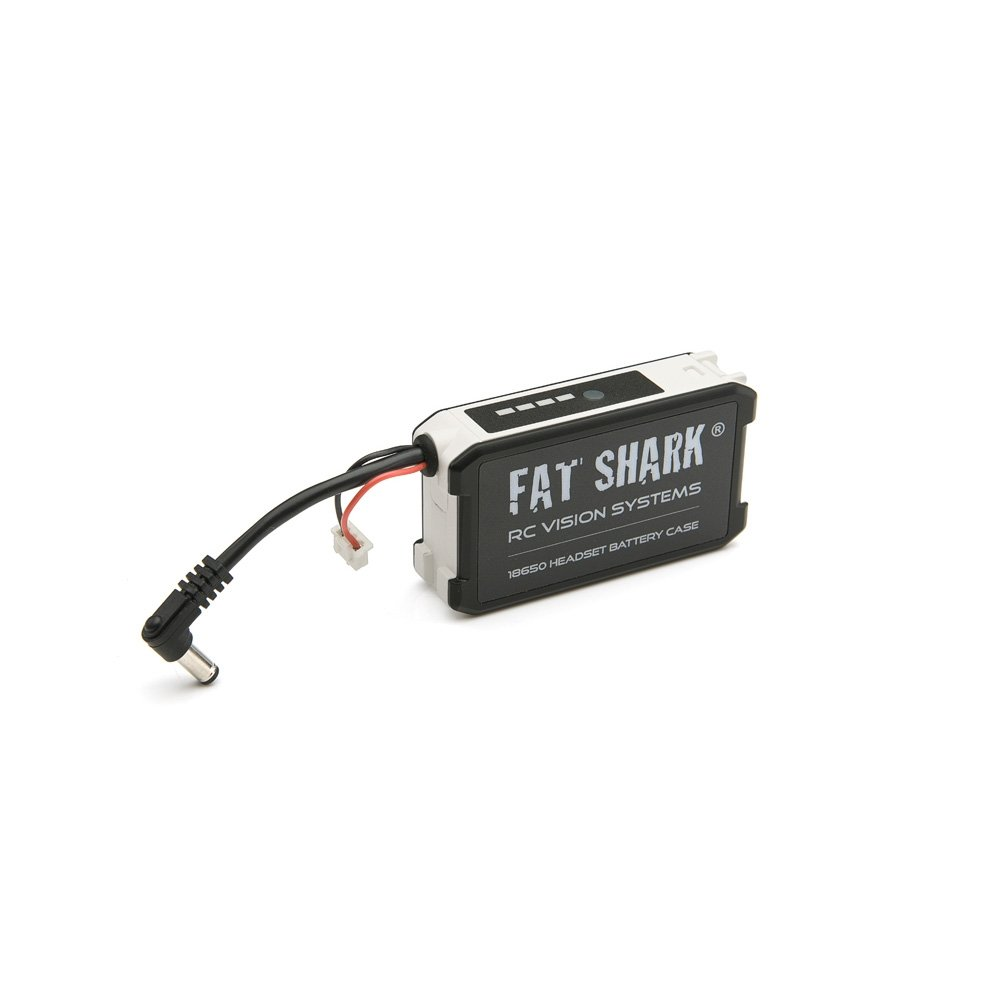fat Shark FSV1814 18650 Li-Ion Cell Battery Holder Goggle Headset Battery Case for Fat shark Dominator V3 HD3 ATTITUDE V3 V4 FPV Quad Race