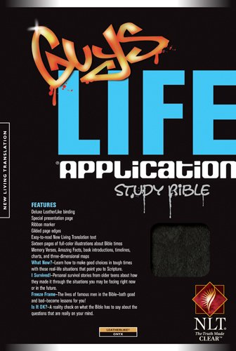 Guys Life Application Study Bible - 2