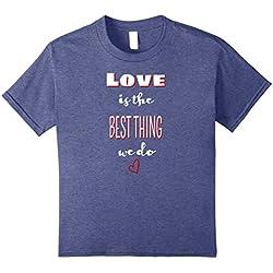 Kids Love quotes Christian love shirt Anti hate shirt Neighbor 10 Heather Blue