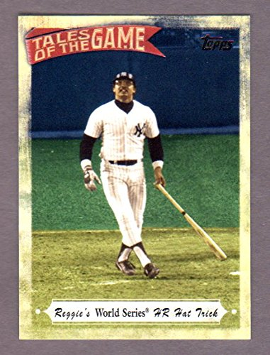 Reggie Jackson 2010 Topps (Tales of the Game) **Reggie's World Series HR Hat Trick*** (Yankees)