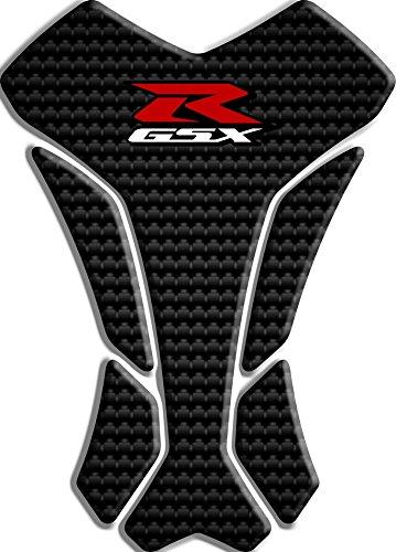 PARASERBATOIO ADESIVO RESINATO EFFETTO 3D compatibile con Suzuki GSX-R