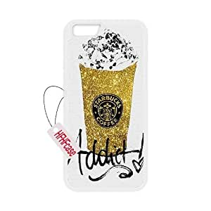 """HFHFcase DIY Case for Iphone6 Plus 5.5"""", Starbucks Iphone6 Plus 5.5"""" Plastic Case"""