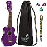 Hola! HM-21 Soprano Ukulele, Color Series (Purple)