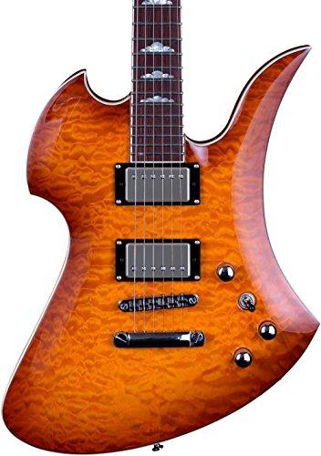 B.C. RICH Mk5-MB-AMB Mk5 Mockingbird Electric Guitar, Amber Burst