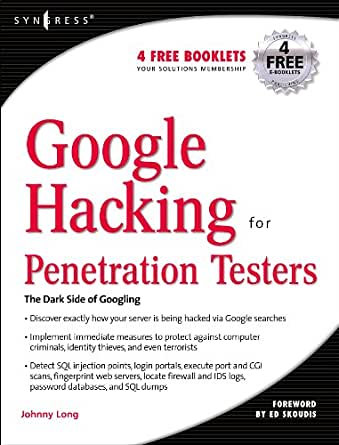 Google Hacking for Penetration Testers (English Edition) eBook ...