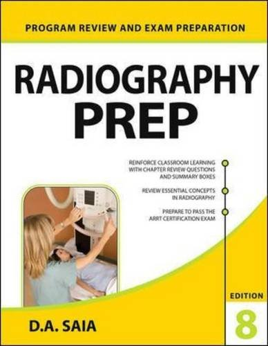 Radiography PREP (Program Review and Exam Preparation), 8th Edition (Lange)