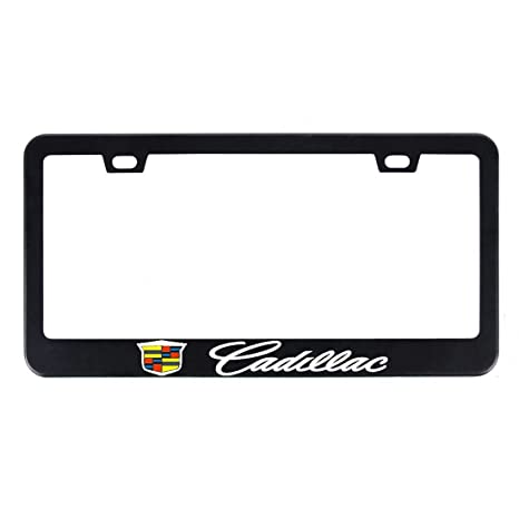 Amazon.com: Deselen - EBS-BT11 - Stainless Steel Cadillac License ...