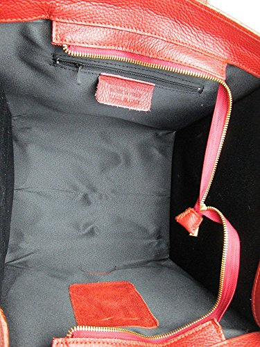 Borsa da donna vera pelle Made in Italy FG Celin