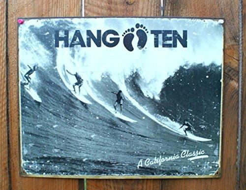 Hang Ten - California Classic Metal Tin Sign 16